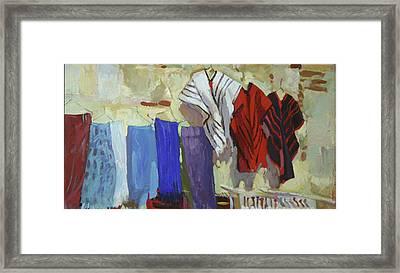 Maria Francesco's Weavings Framed Print