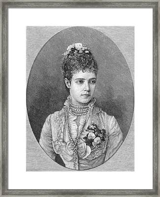 Maria Fyodorovna Framed Print