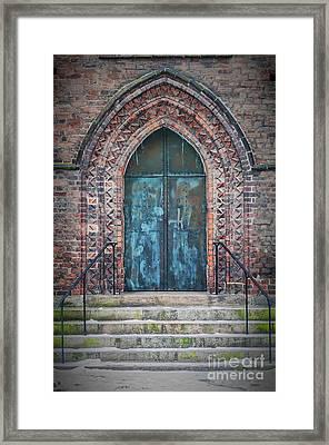 Maria Kyrka Church Door Framed Print