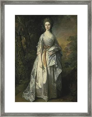 Maria Lady Eardley, 1766 Framed Print
