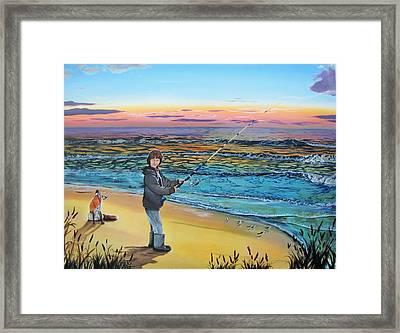 Maria Mae Framed Print
