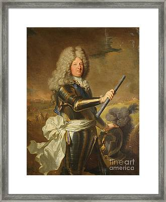 Maria Theresa Of Spain Framed Print