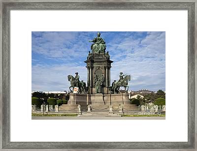 Maria Theresia Statue Framed Print