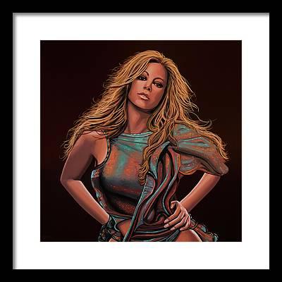 Mariah Carey Framed Prints