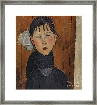 Marie, Daughter Of The People, 1918 Framed Print