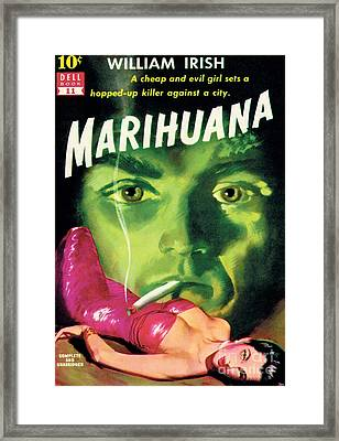 Marihuana Framed Print by Bill Fleming
