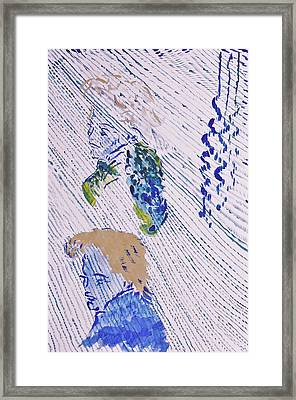 Marilyn Framed Print by Contemporary Michael Angelo