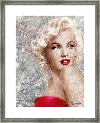 Marilyn Danella Ice Framed Print