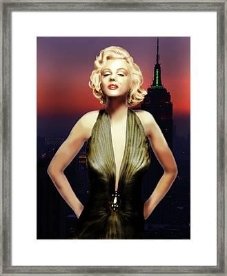 Marilyn Forever Framed Print