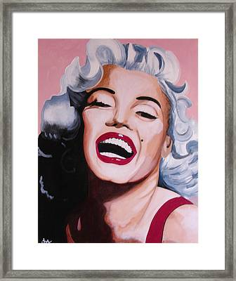Marilyn Framed Print by Jacqui Simpson