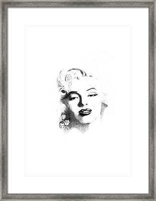 Marilyn  Framed Print by John Barnard