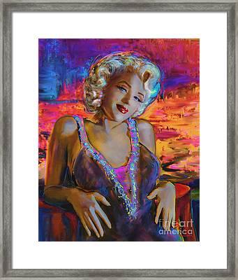 Marilyn Monroe 126 G Framed Print by Theo Danella