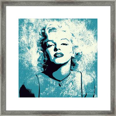Marilyn Monroe - 201 Framed Print
