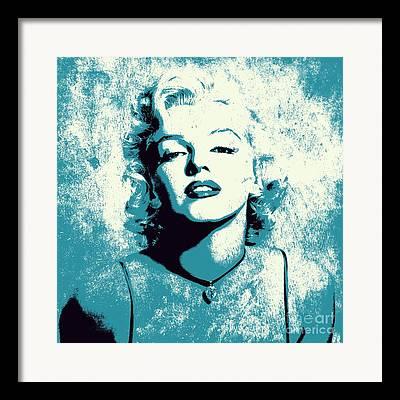Marylin Monroe Framed Prints