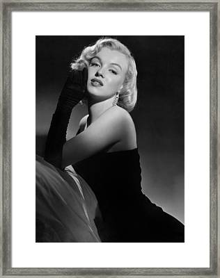 Marilyn Monroe Framed Print by American School