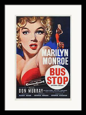 Busstop Framed Prints