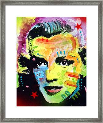 Marilyn Monroe I Framed Print by Dean Russo