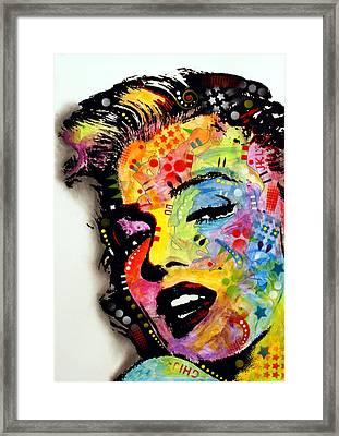Marilyn Monroe II Framed Print by Dean Russo
