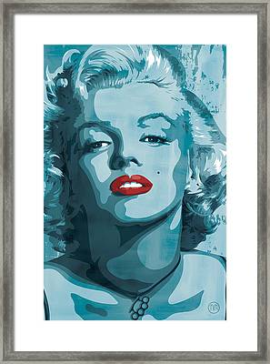 Marilyn Monroe Framed Print by Jeff Nichol