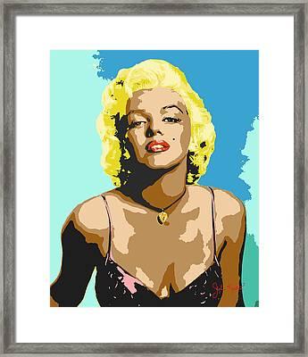 Marilyn Monroe Framed Print by John Keaton