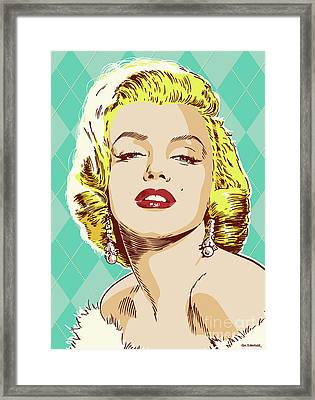 Marilyn Monroe Pop Art Framed Print