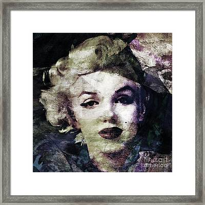 Marilyn Monroe  Framed Print by Stacey Chiew