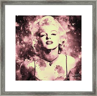 Marilyn Monroe   Vintage Framed Print by Prar Kulasekara