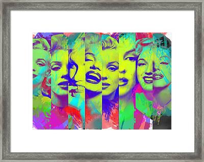 Marilyn Monroe 1 Framed Print by Diana Van