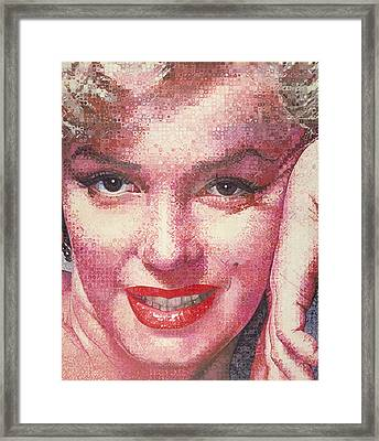 Marilyn Framed Print by Randy Ford