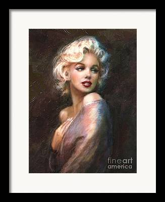 Marilyn Monroe Framed Prints