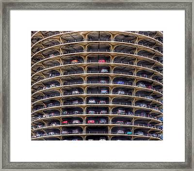Marina City Chicago Framed Print