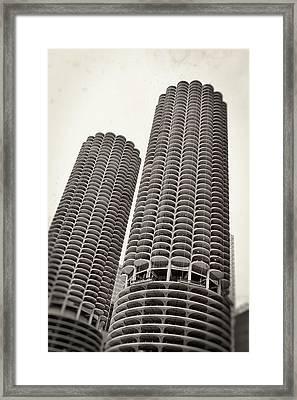 Marina City - Chicago Framed Print