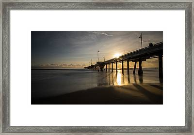 Marina Del Rey - Los Angeles - Seascape Photography Framed Print by Giuseppe Milo