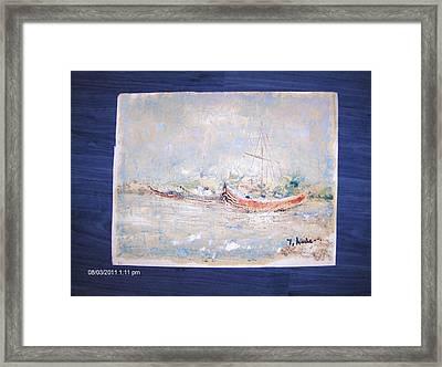 Marina Framed Print by Ilie  Ardeleanu