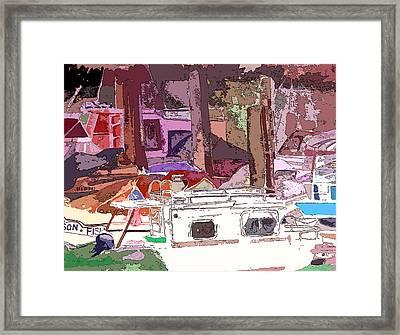 Marina Framed Print by Mindy Newman