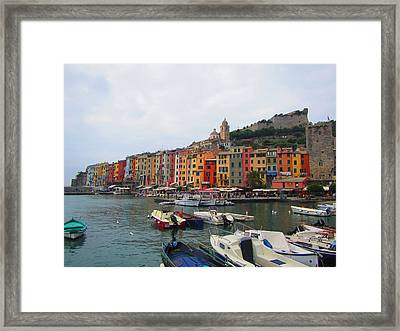 Marina Of Color Framed Print