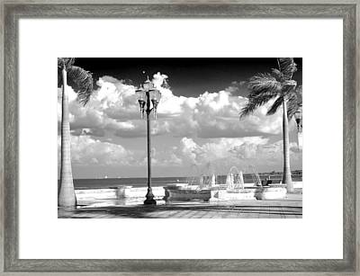 Marina Square Ft. Pierce  Fl Framed Print by Don Youngclaus