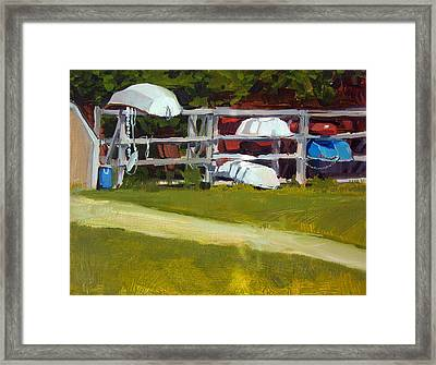 Marina Study No.2 Framed Print by Anthony Sell