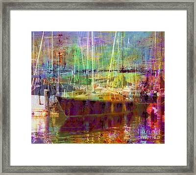 Marina Sunlight Framed Print