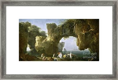 Marina Vista De Sorrento Framed Print by Celestial Images