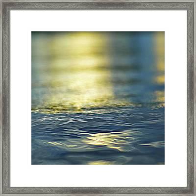 Marine Blues Framed Print