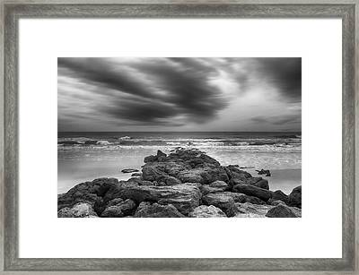 Marineland Beaches  Framed Print by Steven Michael
