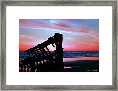 Mariners Sky 20 Framed Print by Steve Warnstaff