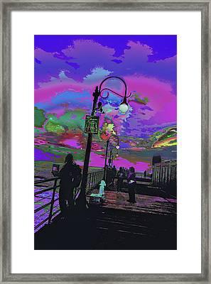 Marine's Silhouette 2 Framed Print