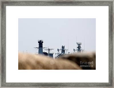 Marines Framed Print by Toon De Zwart