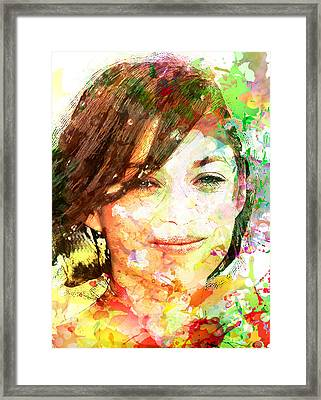 Marion Cotillard Framed Print