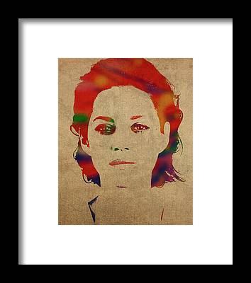 Marion Cotillard Framed Prints