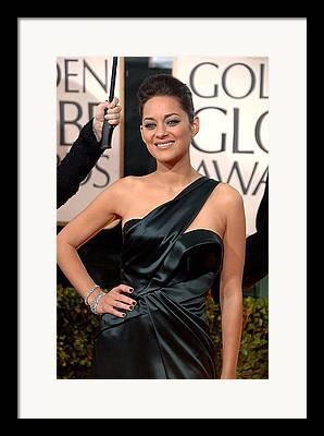 The 67th Annual Golden Globes Awards - Arrivals Framed Prints