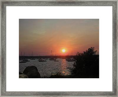 Marion Massachusetts Bay Framed Print