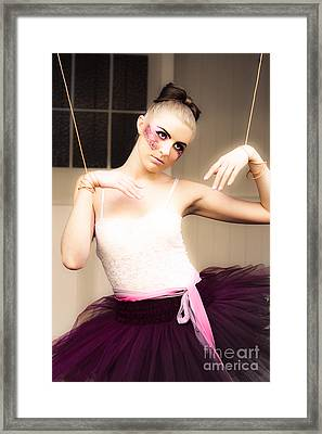 Marionette Doll Framed Print by Jorgo Photography - Wall Art Gallery